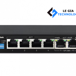 Switch POE D-Link 6P